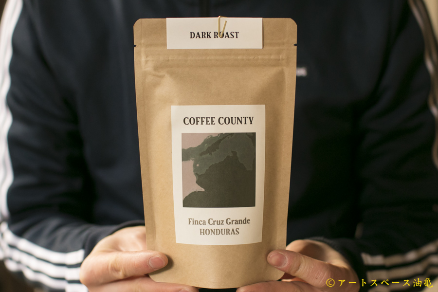 画像1: COFFEE COUNTY「HONDURAS Finca Cruz Grande Dark Roast」珈琲豆100g