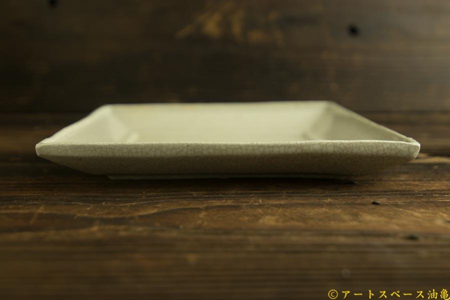 画像4: 林拓児「貫入 正角皿」