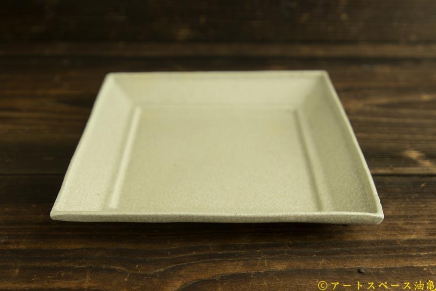 画像3: 林拓児「貫入 正角皿」
