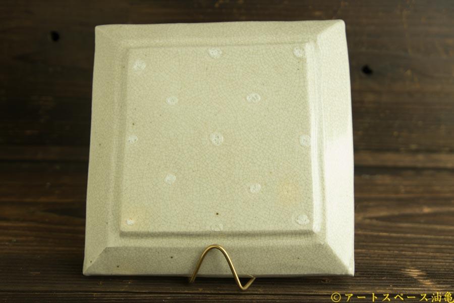 画像2: 林拓児「貫入 正角皿」