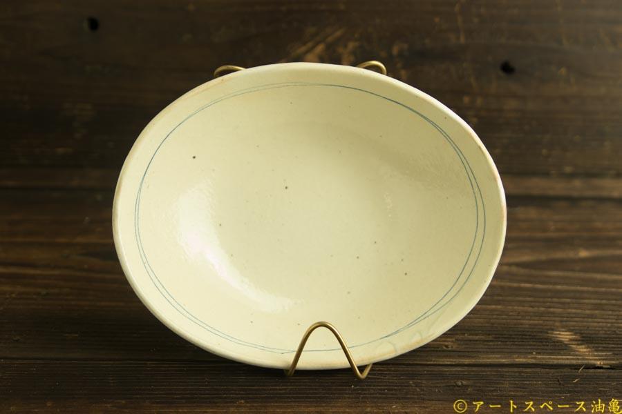 画像1: 古谷浩一「ゴス線 楕円深鉢 大」