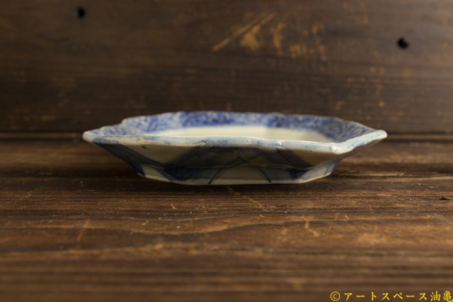 画像5: 肥後博己「印花紋隅切平鉢」
