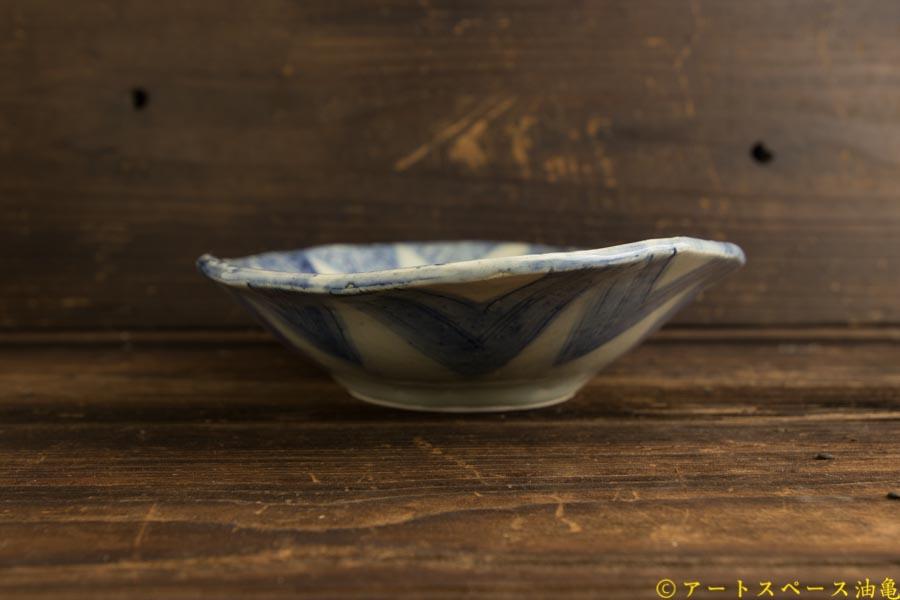 画像5: 肥後博己「印花紋染付楕円皿」