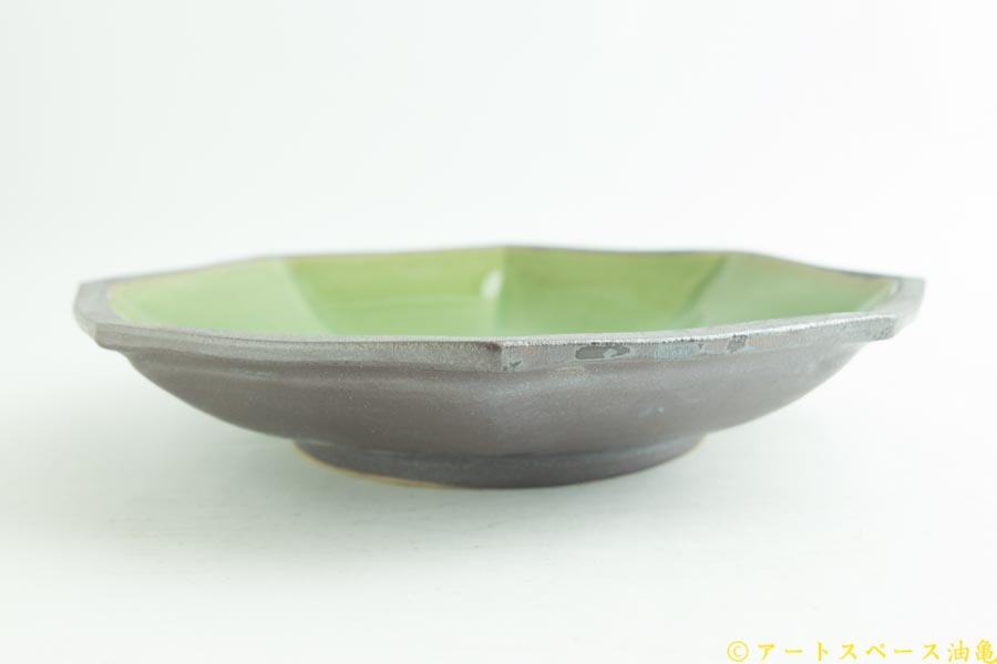 画像3: 遠山貴弘「八角深鉢 グリーン」