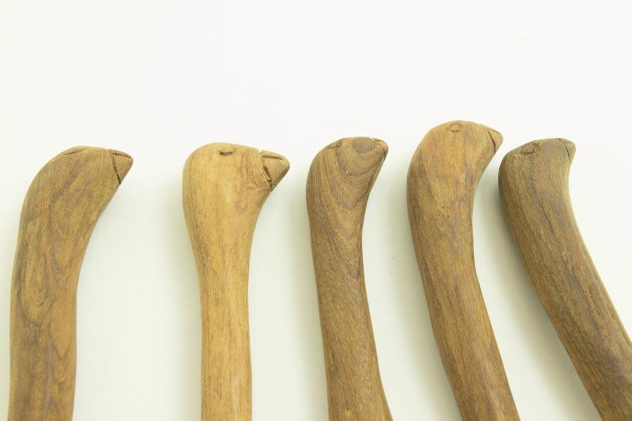 画像1: 奥山泉「木のスプーン(トリ)」アソート作品