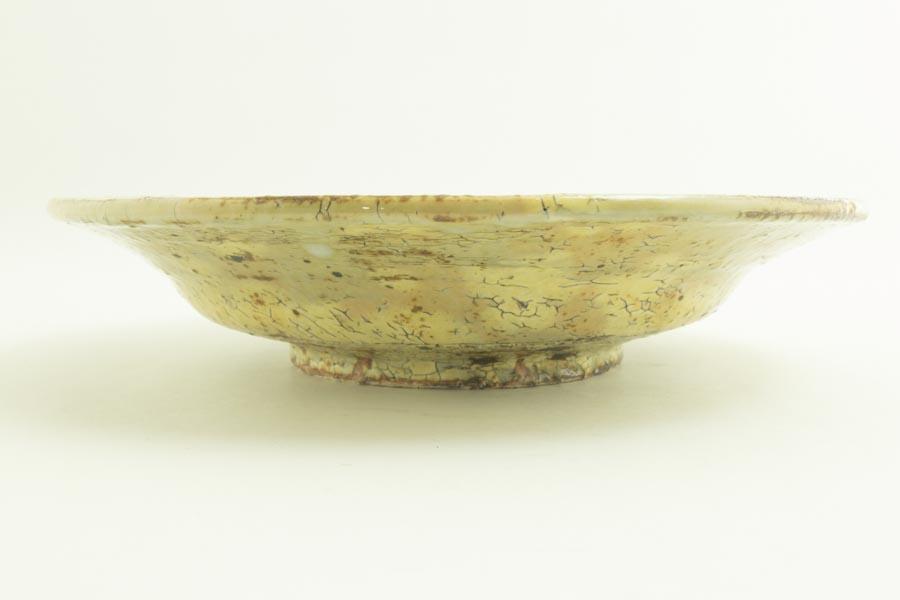 画像4: 工藤和彦「黃粉引 7寸リム皿」