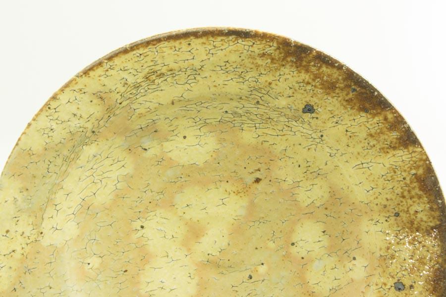 画像3: 工藤和彦「黃粉引 7寸リム皿」