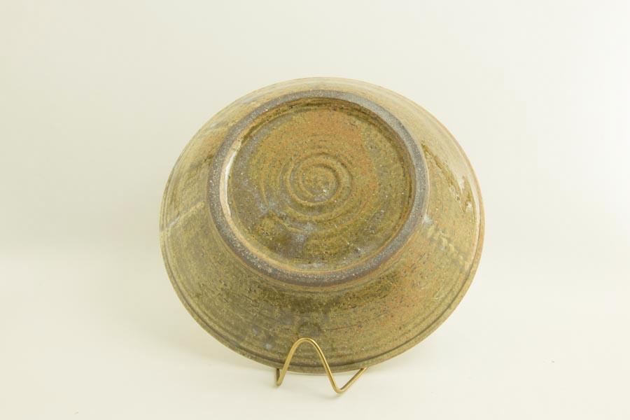 画像5: 八木橋昇「黄化粧 掛け分け 玉縁8寸浅鉢」