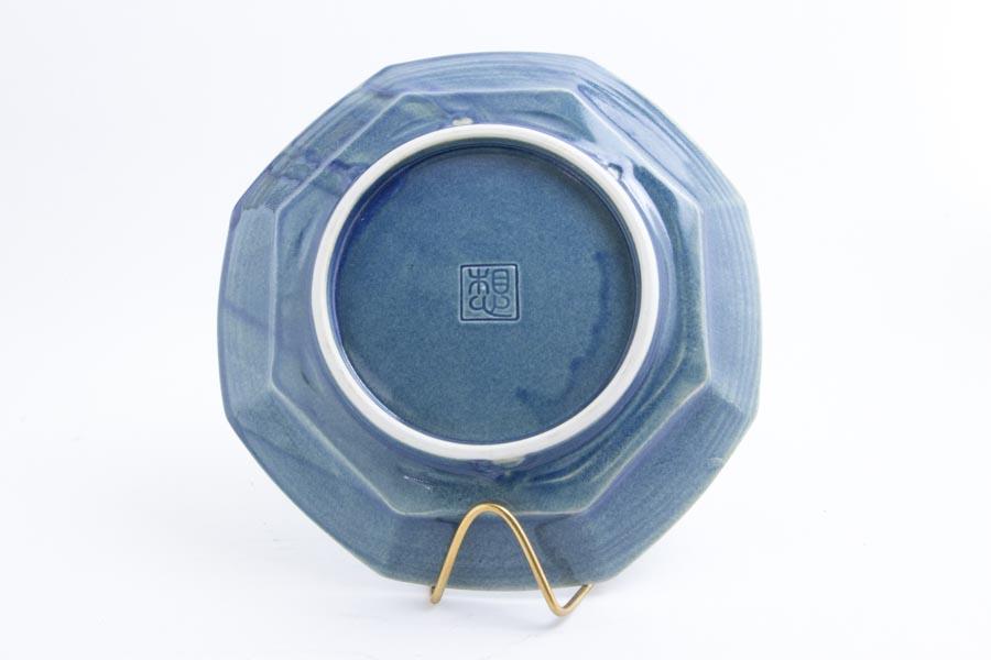 画像4: 柳川謙治「薄瑠璃 八角七寸皿」
