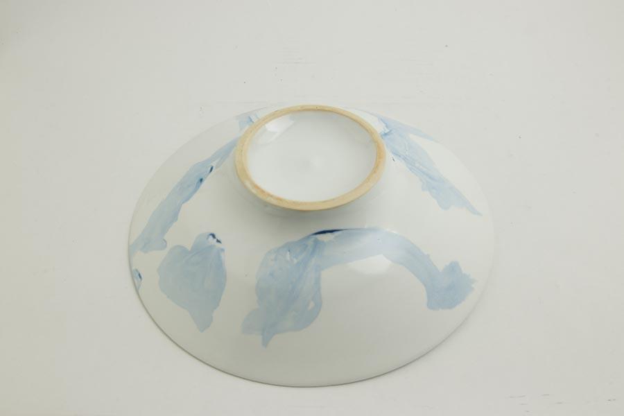 画像4: 許斐良助「天草陶石 皿 青い空とハートの雲」
