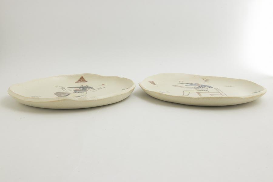 画像2: 田川亞希 「古代エジプトプレート」
