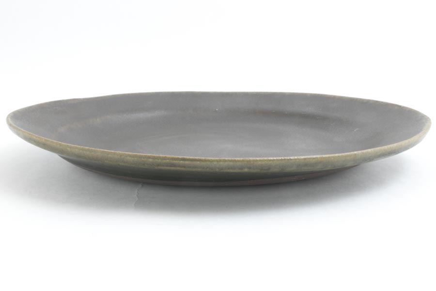 画像3: 古谷浩一「サビ釉 ダ円リム皿 大」