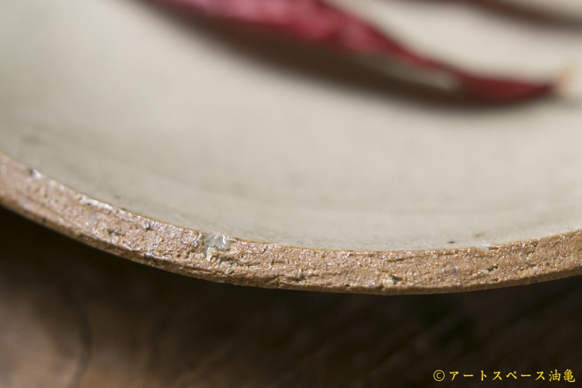 画像3: 寺村光輔 泥並釉 6寸丸皿(薪)