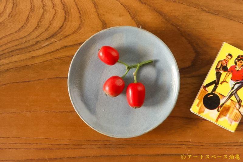 画像5: 土井康治朗「せとうちブルー 平皿 2寸3分」