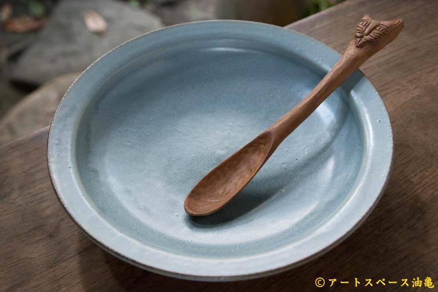 画像1: 土井康治朗 せとうちブルーカレー皿【アソート作品】