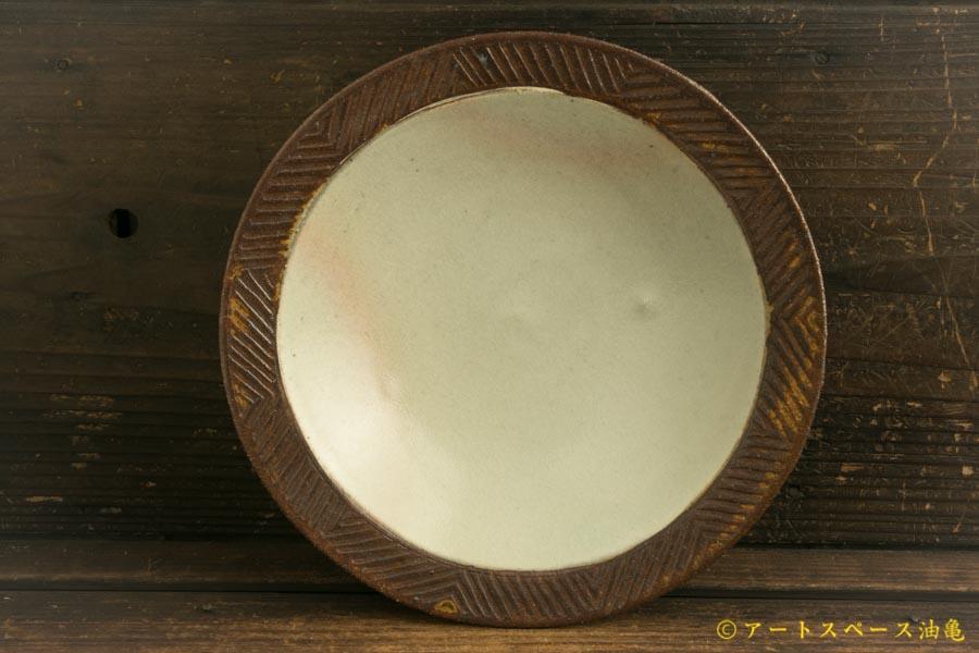 画像1: 江口香澄「アフリカ彫刻帽子浅鉢(大)」