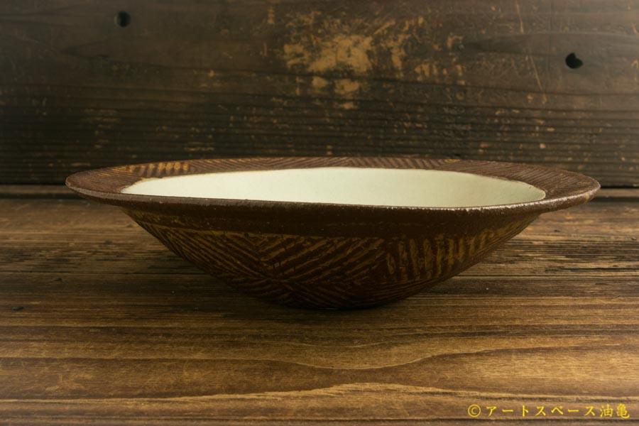 画像3: 江口香澄「アフリカ彫刻帽子浅鉢(大)」