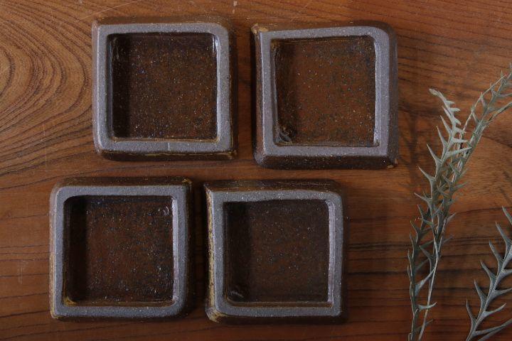 画像3: 江口香澄「アフリカ彫刻 石畳豆皿」