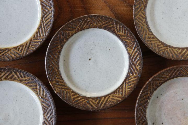 画像1: 江口香澄「アフリカ彫刻 豆皿」【アソート作品】