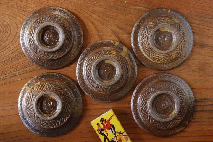 画像4: 江口香澄「アフリカ彫刻 豆皿」【アソート作品】