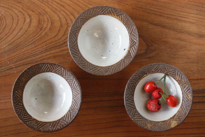 画像1: 江口香澄「アフリカ彫刻 帽子豆鉢」【アソート作品】