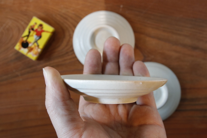 画像2: 江口香澄「白 シンプルな豆皿」【アソート作品】
