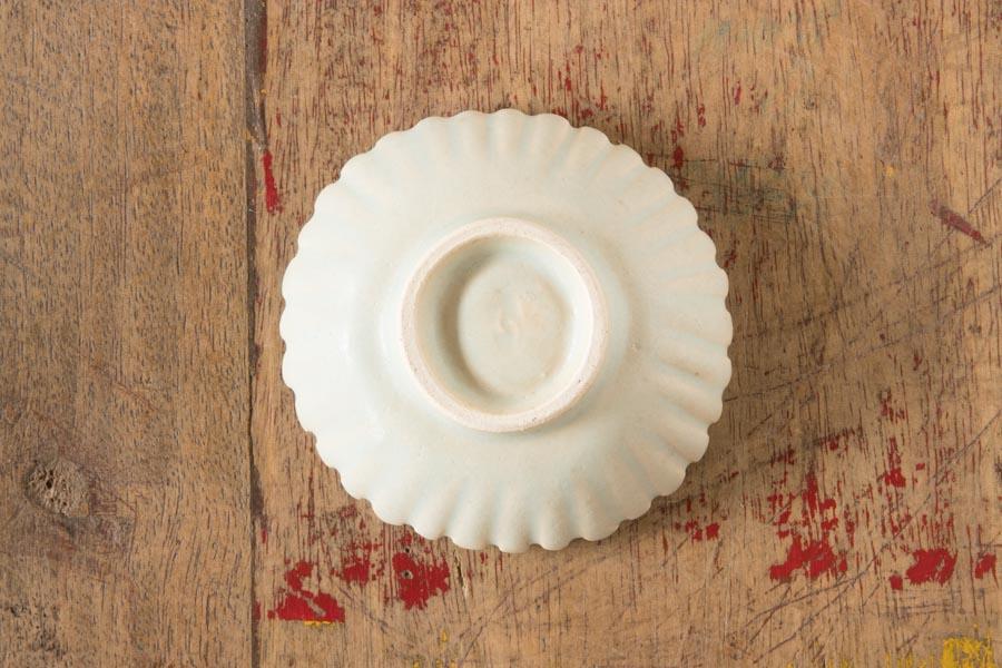 画像2: 江口香澄「白花型 ミニ小鉢」