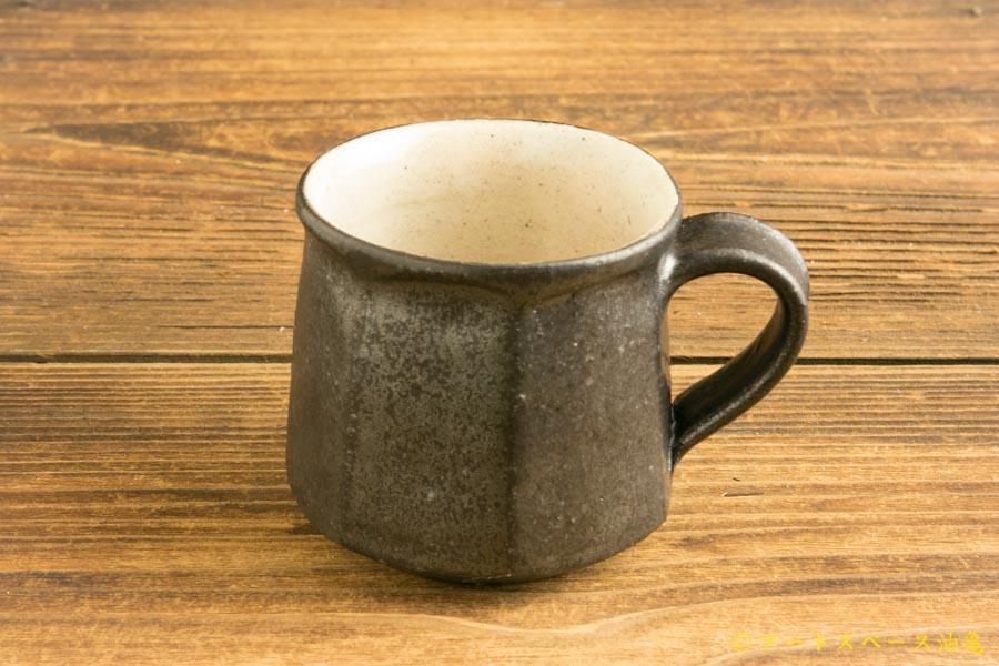 画像3: 江口香澄「黒七角マグカップ(低)」