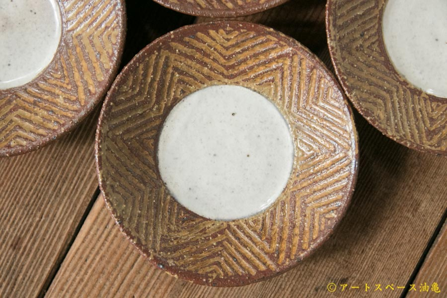 画像1: 江口香澄 アフリカ彫刻 豆浅鉢【アソート作品】