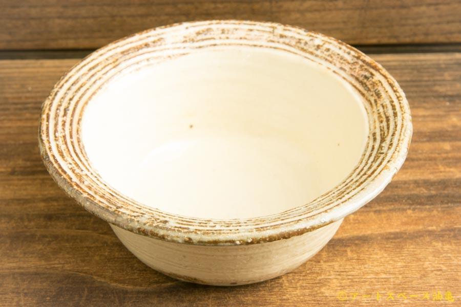 画像1: 古谷浩一 「渕荒横彫 切立リム豆鉢」