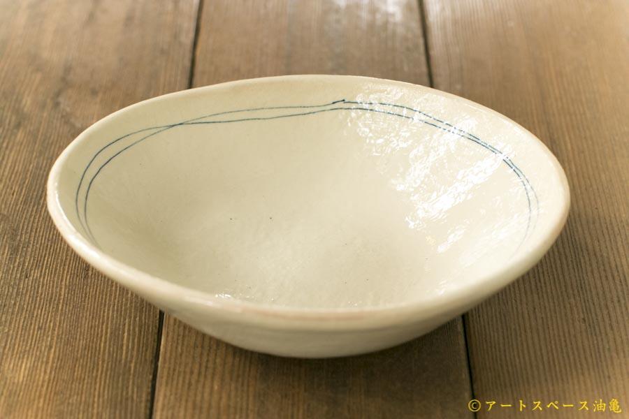 画像1: 古谷浩一 「ゴス線 楕円深鉢 小」