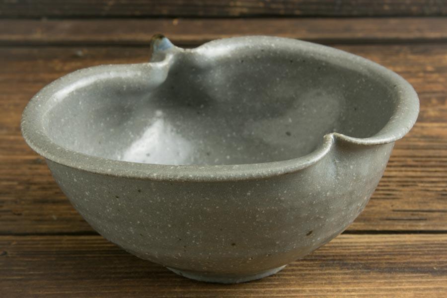 画像3: 古谷浩一「グレー釉 りんご鉢 小」