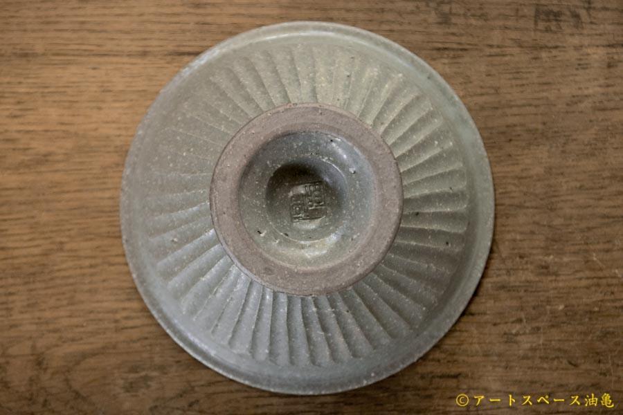 画像5: 古谷浩一 グレー釉しのぎコンポートデザートカップ(大) 【アソート作品】