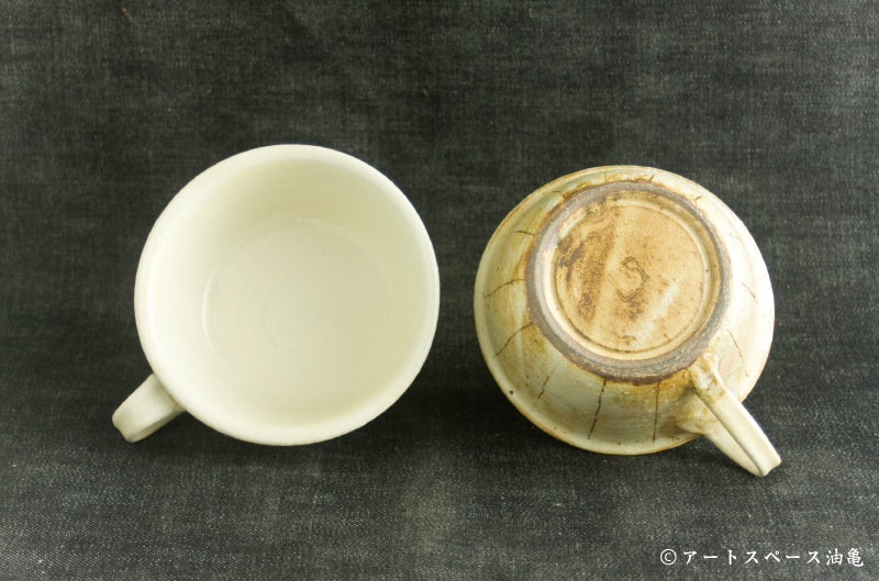 画像4: 古谷浩一「たて鉄線 手付切立スープカップ」#104