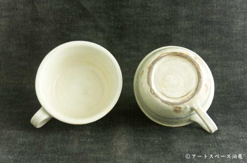 画像3: 古谷浩一「ゴス線 手付切立スープカップ」#105