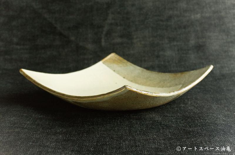画像2: 古谷浩一 「L彫 7寸四方深皿」#143