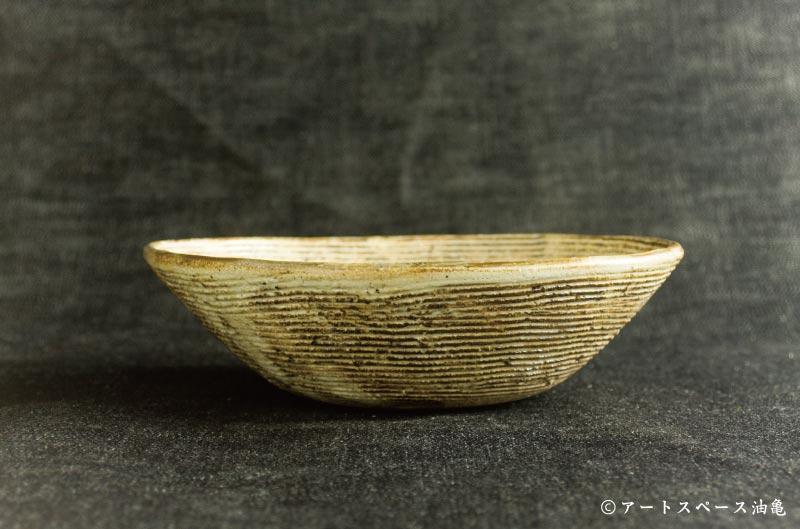 画像2: 古谷浩一 「渕荒横彫 楕円深鉢 小」#157
