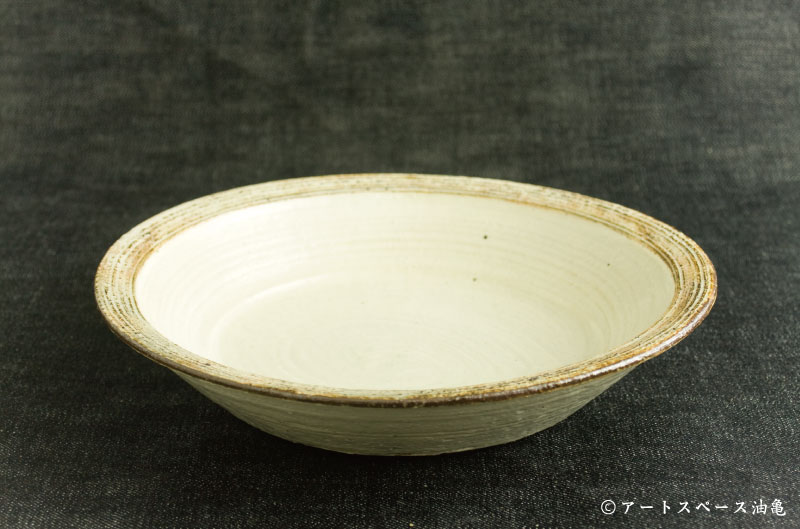 画像3: 古谷浩一 「渕荒横彫 カレー皿」#155