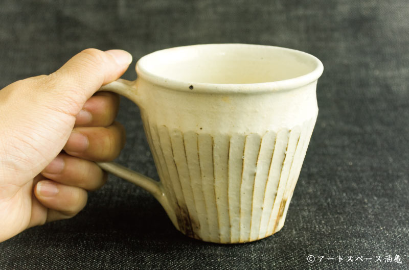 画像5: 古谷浩一「鉄散 しのぎマグカップ」#159