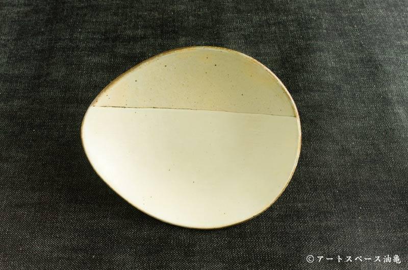 画像1: 古谷浩一 「荒鉄線 しずく取皿」#153