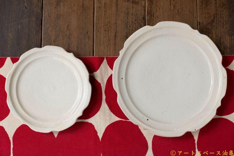 画像1: 古谷浩一「鉄散 彫刻皿 6寸」
