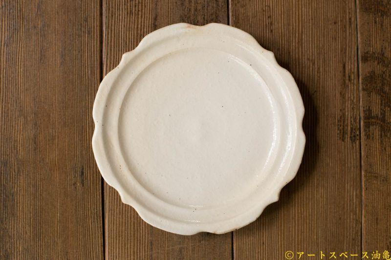 画像2: 古谷浩一「鉄散 彫刻皿 6寸」