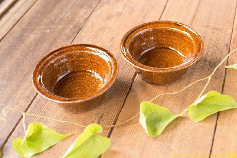 画像3: 古谷浩一「アメ釉 耐熱 切立豆鉢」