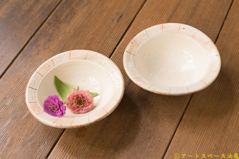 画像1: 古谷浩一 「たて鉄線 たわみ豆鉢」