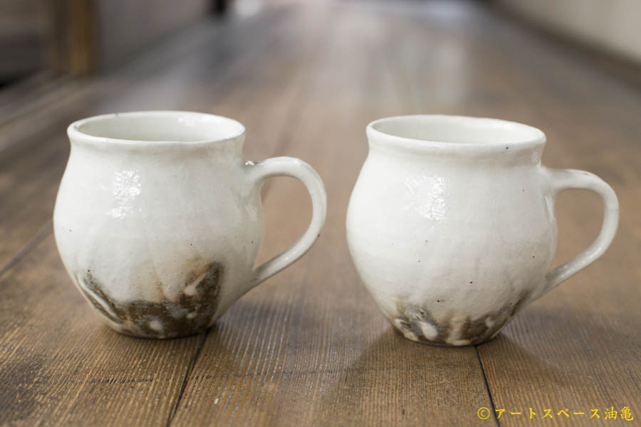 画像1: 古谷浩一「鉄散 ポットマグカップ」