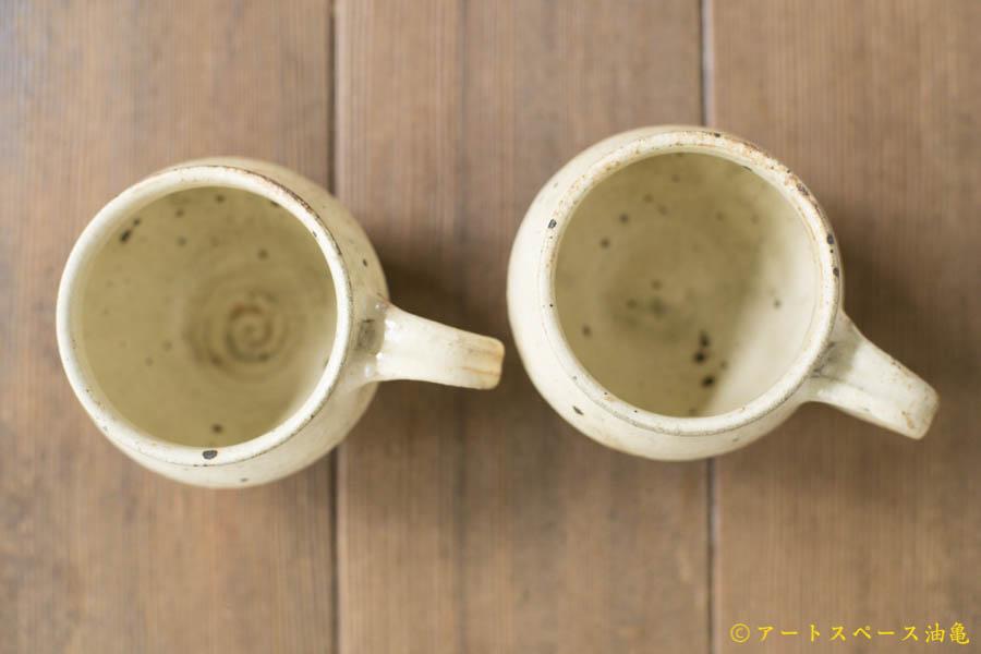 画像3: 古谷浩一「きなり 面取マグカップ」