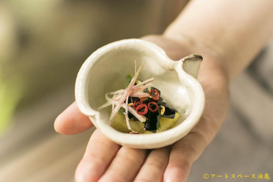 画像1: 古谷浩一「鉄散 りんご鉢 ミニ」