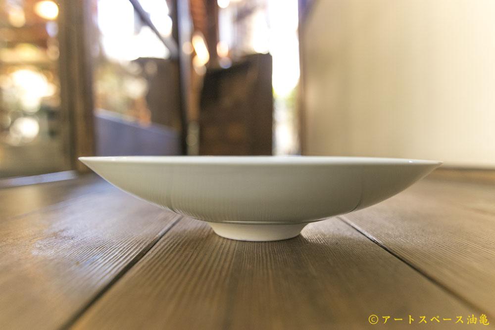 画像5: 五嶋竜也「青白磁蓮弁文皿」