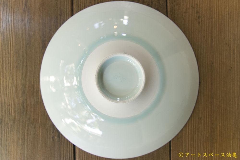 画像3: 五嶋竜也「青白磁蓮弁文皿」