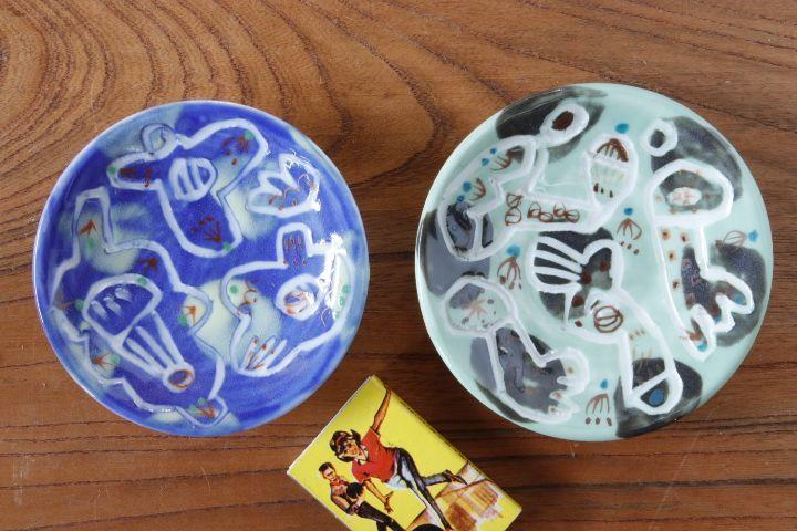 画像1: 浜坂尚子「ろくろ 豆皿」